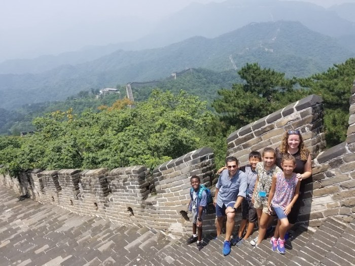 Great Wall Beijing with Kids- Kid World Citizen