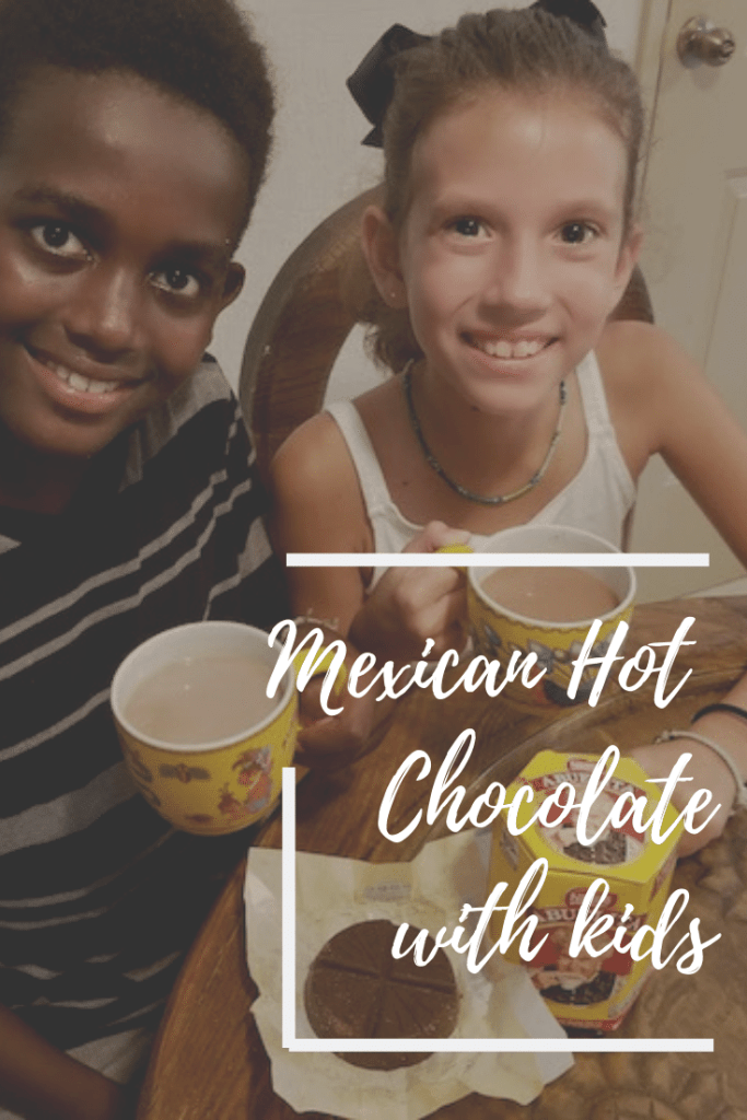 Mexican Hot Chocolate Recipe Lesson Kids- Kid World Citizen