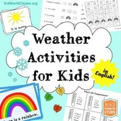 Weather Lesson Plan Kids- Kid World Citizen