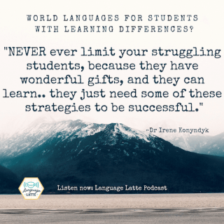 World Languages for Students with Learning Disabilities- Kid World CItizen