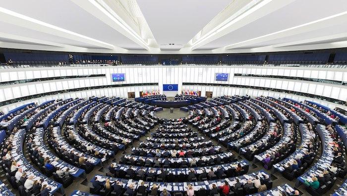 European Parliament Strasbourg Hemicycle- Kid WOrld Citizen