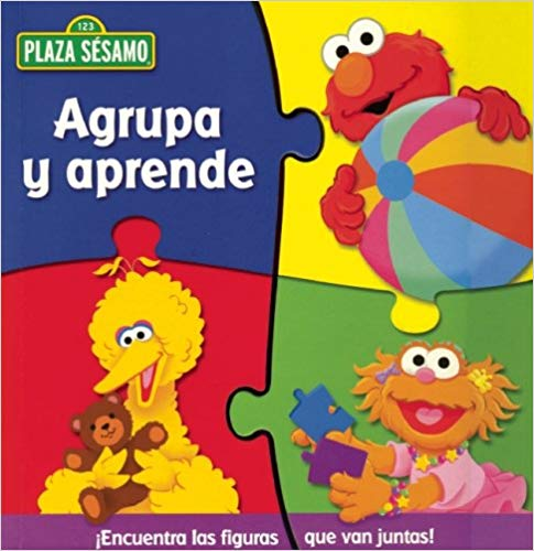 Elmo Book Spanish Toddlers- Kid World Citizen