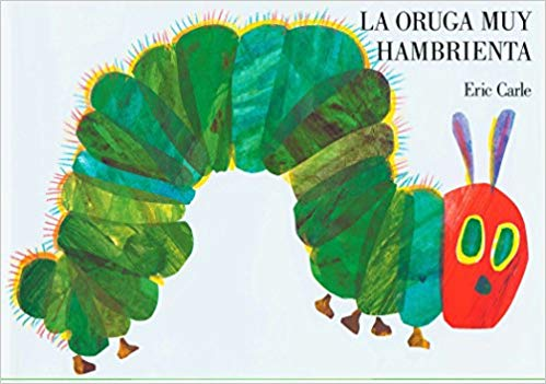 Hungry Caterpillar Spanish Books Toddlers- Kid World Citizen