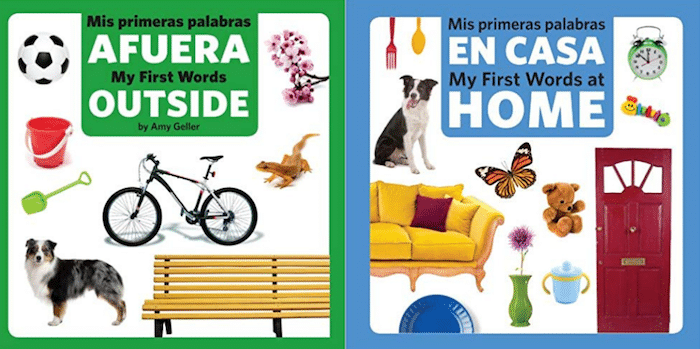 Vocab Toddlers Spanish Books- Kid World Citizen
