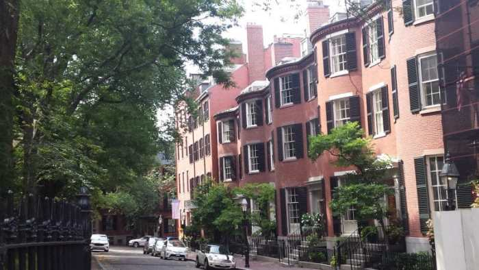 Louisburg Square, Boston