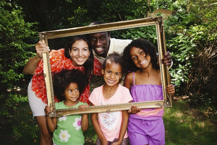 A Mixed race family's journey to find home