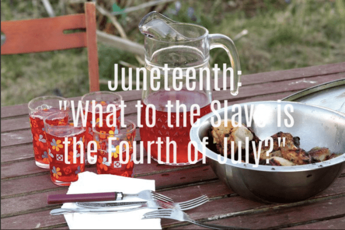 Juneteenth history and recipe
