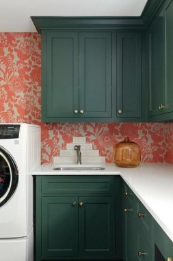 16 Brighten Up Your Home With An Orange Kitchen 19