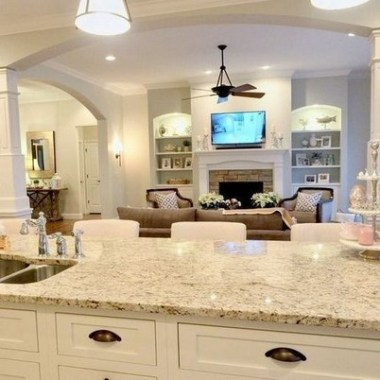 16 How To Decorate An Open Concept Kitchen 10