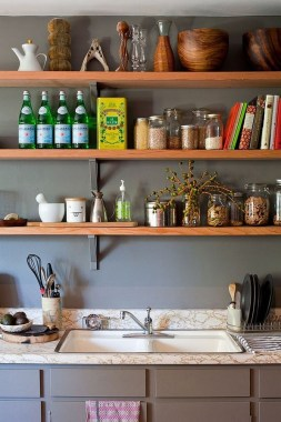 17 Chic Kitchens With Open Shelving 20