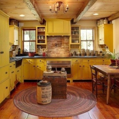 17 Yellow Kitchen Ideas That Will Brighten Your Home 04