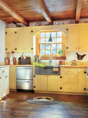 17 Yellow Kitchen Ideas That Will Brighten Your Home 14