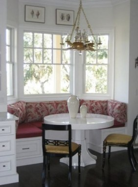 19 Kitchen Banquette Seating Ideas For Your Breakfast Nook 06