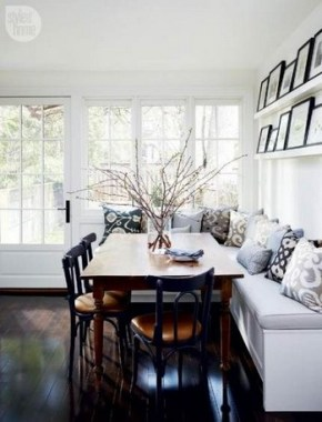 19 Kitchen Banquette Seating Ideas For Your Breakfast Nook 18