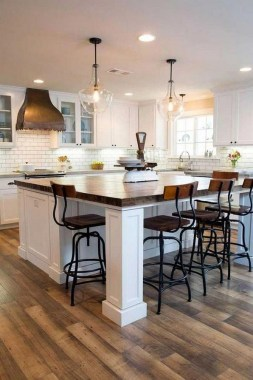 15 Kitchen Islands With Seating For Your Family Home 24