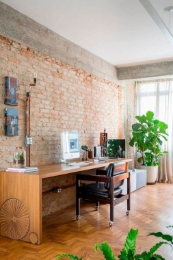 16 Exposed Concrete And Brick Walls Highlighted In Apartment Renovation 12