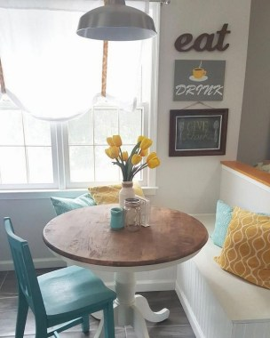 17 Modern Breakfast Nook Ideas That Will Make You Want To Become A Morning Person 25