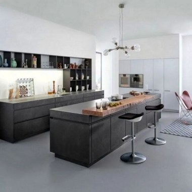 19 Contemporary Leicht Kitchen Features Cabinet Shutters 12