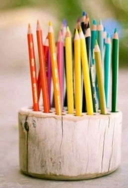 19 Functional DIY Ideas By Utilizing Your Old Log 14
