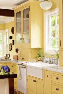 20 Colorful Kitchen Cabinets To Add A Spark To Your Home 29