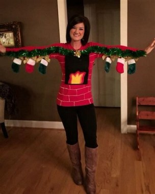 20 Gorgeous DIY Sweater Makeover Ideas This Winter 03