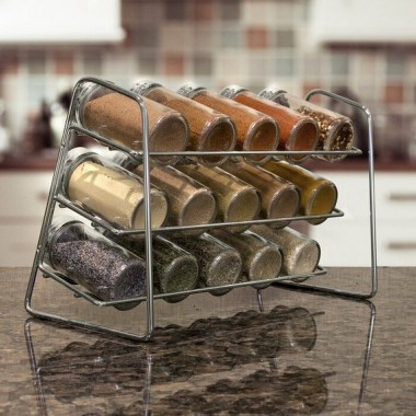 20 Well Organized Spices Arrangement In Your Kitchen 26