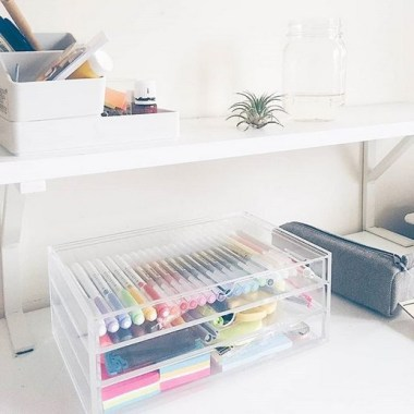 21 Functional DIY Stationery Storage To Have A Good Organizer 03