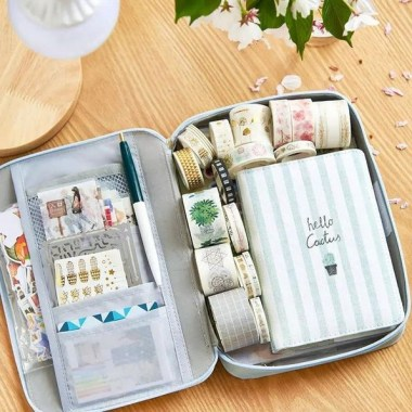 21 Functional DIY Stationery Storage To Have A Good Organizer 08