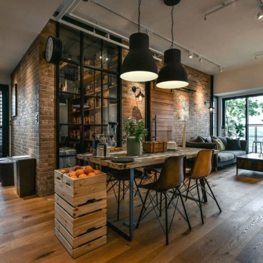 21 Stylish Rustic Industrial Decor Accents To Take In Consideration 05