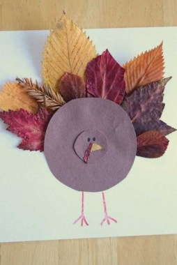 17 DIY Creative Colorful Leaves Fall Craft Ideas For Classroom Activities 23
