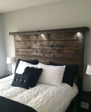 18 Creative Ideas To DIY Your Bed Headboard 08