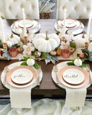 18 Pretty DIY Thanksgiving Decoration Ideas 19