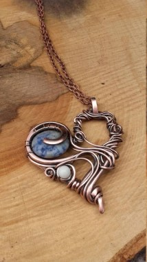 19 Creative DIY Wire Wrapped Jewelry Craft Ideas 24