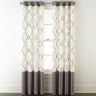 19 Simple Embroidery Curtains For Living Room 29