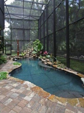 19 Small Backyard Designs With Swimming Pool That You'll Love 11