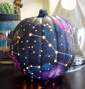 21 Easy DIY No Carve Pumpkin Craft Ideas 05