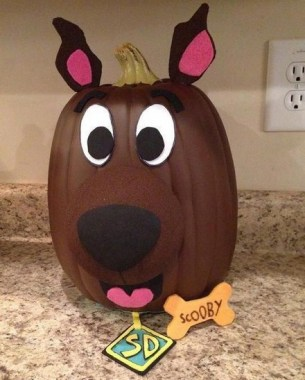 21 Easy DIY No Carve Pumpkin Craft Ideas 26