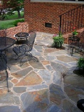 21 Patio Design Ideas With Stones To Bring A Sophisticated Look 11