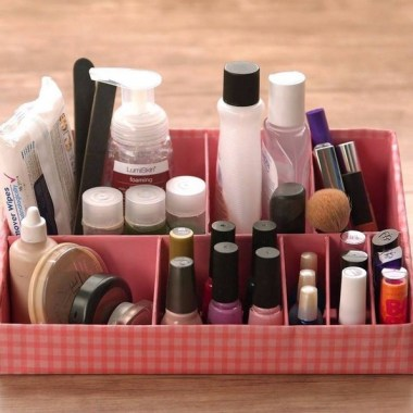 21 Pretty Chic DIY Makeup Storage Ideas For An Inexpensive One 05
