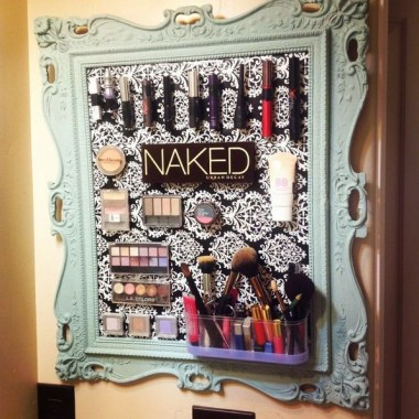 21 Pretty Chic DIY Makeup Storage Ideas For An Inexpensive One 17