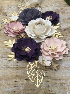 21 Simple DIY Paper Flower For Your Home Decoration 18