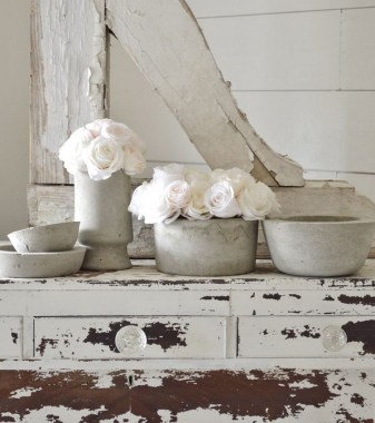25 Modern DIY Concrete Crafts For Spring Decoration That Easy To Make 19