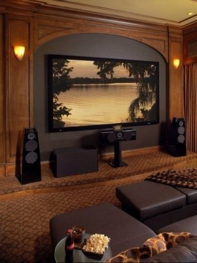 22 Basement Home Theater Design Ideas To Enjoy Your Movie Time With Family And Friends 15
