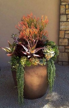 22 Beautiful And Incredible Fall Succulent Ideas 07 1
