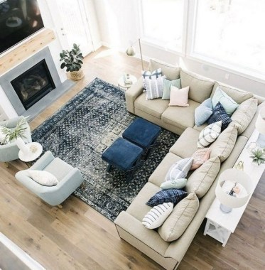 22 Inspiring Living Room Layouts Ideas With Sectional 03