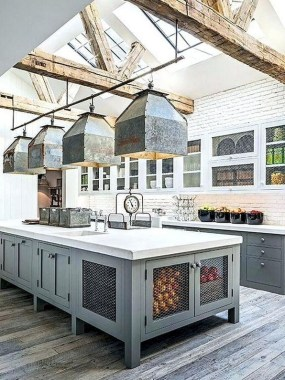 24 Awesome Yet Functional Kitchen Island Design Ideas 16