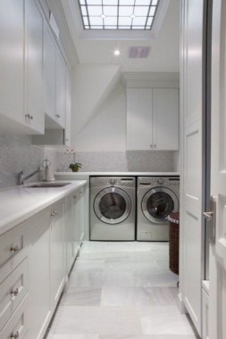 26 Beautiful And Functional Small Laundry Room Design Ideas 27
