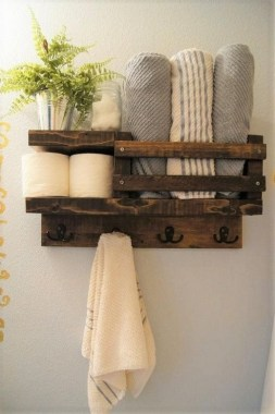 27 Built In Bathroom Shelf And Storage Ideas To Keep Your Bathroom Organized 07