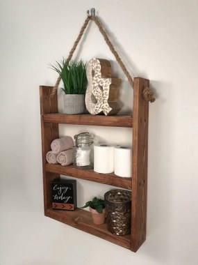 27 Built In Bathroom Shelf And Storage Ideas To Keep Your Bathroom Organized 17