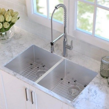 27 Modern Minimalist Kitchen Sink Ideas 16